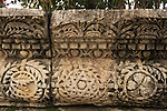Israel, Sea of Galilee, friezes from the Synagogue at Capernaum