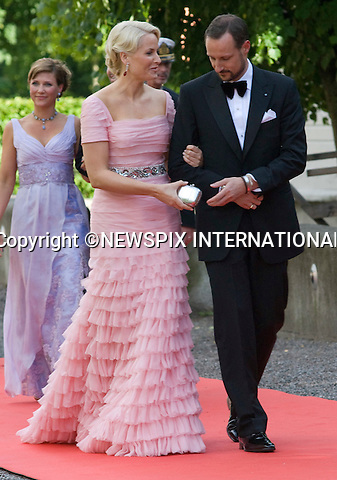"""CROWN PRINCE HAAKON AND CROWN PRINCESS METTE-MARIT OF NORWAY.PRINCESS VICTORIA_PRE-WEDDING DINNER.hosted by the Swedish Government, Eric Ericsonhallen, Stockholm_18/062010.Mandatory Credit Photo: ©DIAS-NEWSPIX INTERNATIONAL..**ALL FEES PAYABLE TO: """"NEWSPIX INTERNATIONAL""""**..IMMEDIATE CONFIRMATION OF USAGE REQUIRED:.Newspix International, 31 Chinnery Hill, Bishop's Stortford, ENGLAND CM23 3PS.Tel:+441279 324672  ; Fax: +441279656877.Mobile:  07775681153.e-mail: info@newspixinternational.co.uk"""