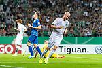 10.08.2019, wohninvest WESERSTADION, Bremen, GER, DFB-Pokal, 1. Runde, SV Atlas Delmenhorst vs SV Werder Bremen<br /> <br /> im Bild<br /> Jubel 1:4, <br /> Davy Klaassen (Werder Bremen #30) bejubelt seinen Treffer zum 1:4, <br /> <br /> während DFB-Pokal Spiel zwischen SV Atlas Delmenhorst und SV Werder Bremen im wohninvest WESERSTADION, <br /> <br /> Foto © nordphoto / Ewert