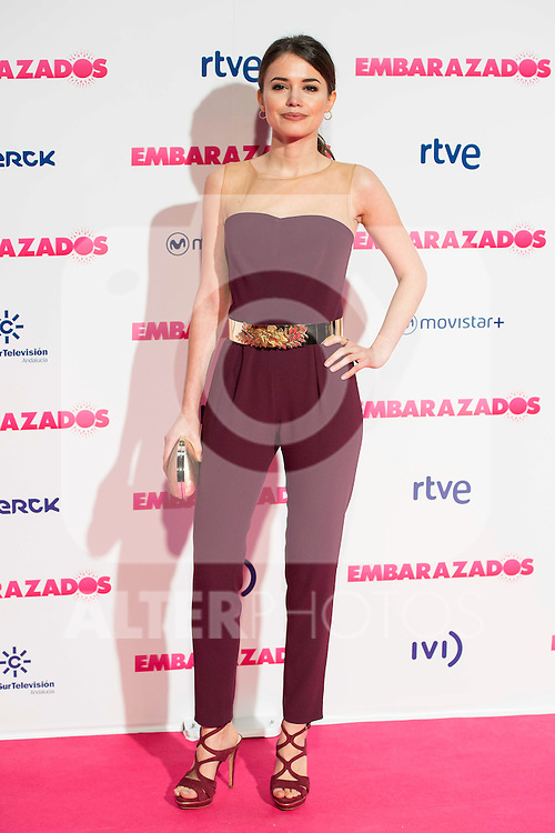 Guiomar Puerta attends to the premiere of the film &quot;Embarazados&quot; at Capitol Cinemas in Madrid, January 27, 2016.<br /> (ALTERPHOTOS/BorjaB.Hojas)