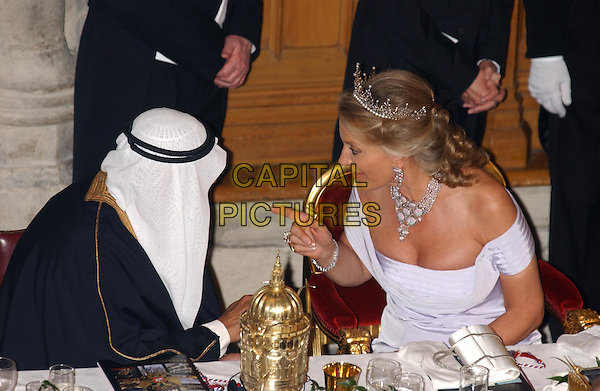 AMBASSADOR OF KUWAIT & PRINCESS MICHAEL OF KENT..Guildhall banquet in honour of the President of the Russian Federation ..in the City of London..sales@capitalpictures.com..www.capitalpictures.com..©Capital Pictures.royal, royalty