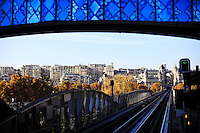 France, Paris, October 30, 2011..General view of Metro Station in Paris October 30 , 2011. VIEWpress / Eduardo Munoz Alvarez..Paris is today one of the world's leading business and cultural centres, and its influences in politics, education, entertainment, media, fashion, science, and the arts all contribute to its status as one of the world's major global cities. Media Reported.