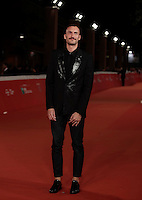"Il regista francese Sebastien Marnier posa sul red carpet per la presentazione del film ""Irreprochable"" al Festival Internazionale del Film di Roma, 17 ottobre2016.<br />