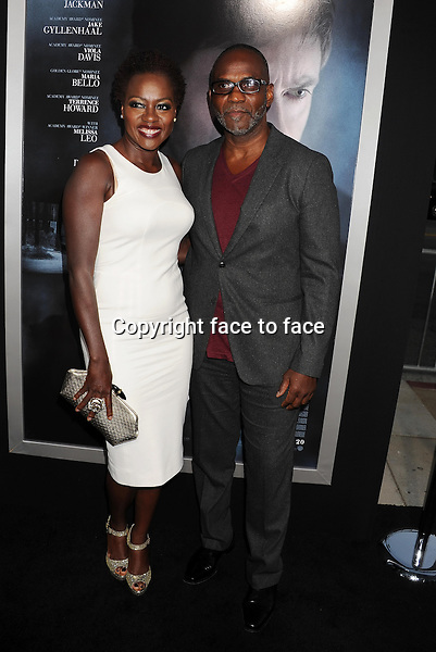 BEVERLY HILLS, CA- SEPTEMBER 12: Actress Viola Davis (L) and Julius Tennon arrive at the 'Prisoners' - Los Angeles Premiere at the Academy of Motion Picture Arts and Sciences on September 12, 2013 in Beverly Hills, California.<br /> Credit: Mayer/face to face<br /> - No Rights for USA, Canada and France -