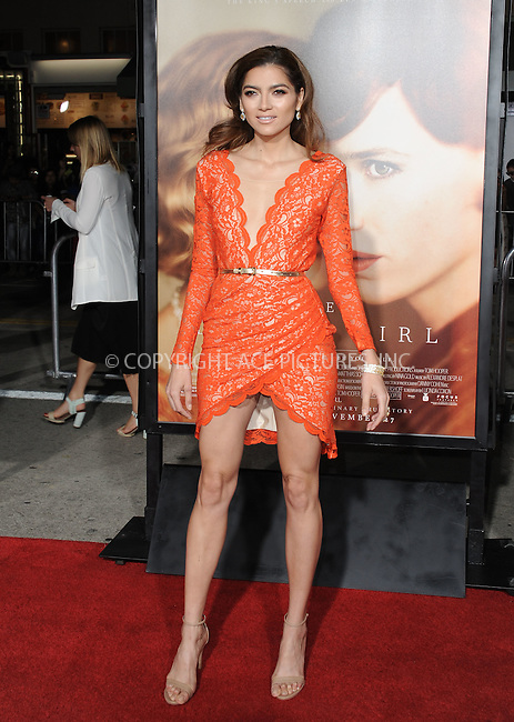WWW.ACEPIXS.COM<br /> <br /> November 21 2015, LA<br /> <br /> Blanca Blanco arriving at the premiere of Focus Features' 'The Danish Girl' at the Westwood Village Theatre on November 21, 2015 in Westwood, California. <br /> <br /> <br /> By Line: Peter West/ACE Pictures<br /> <br /> <br /> ACE Pictures, Inc.<br /> tel: 646 769 0430<br /> Email: info@acepixs.com<br /> www.acepixs.com
