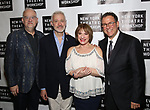 Doug Wright, Scott Frankel, Patti LuPone and Michael Greif attends New York Theatre Workshop's 2017 Spring Gala at the Edison Ballroom on May 15, 2017 in New York City.