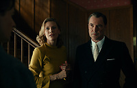 NEVER LOOK AWAY (ORIG TITLE-Werk ohne Autor, 2018)<br /> Left to right: Ina Weisse as Martha Seeband, Sebastian Koch as Professor Carl Seeband<br /> *Filmstill - Editorial Use Only*<br /> CAP/FB<br /> Image supplied by Capital Pictures