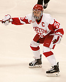Alexis Crossley (BU - 25) - The Boston College Eagles defeated the Boston University Terriers 3-2 in the first round of the Beanpot on Monday, January 31, 2017, at Matthews Arena in Boston, Massachusetts.