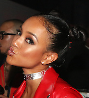 NEW YORK, NY - SEPTEMBER 10, 2016 Karrueche attends the Alexander Wang Fashion Show after party September 10, 2016 at Pier 94 in New York City. Photo Credit: Walik Goshorn / Mediapunch