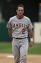 Adams Kennedy, of the Los Angeles Angels , during their game against the Oakland A's  on April 23, 2006 in Oakland...A's win 4-3..Rob Holt / SportPics