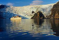 M/V Discovery in Blackstone Bay, Prince William Sound, Alaska