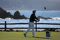 Kyoung_Hoon Lee (KOR) during the first round of the AT&amp;T Pro-Am, Pebble Beach Golf Links, Monterey, California, USA. 07/02/2019<br /> Picture: Golffile | Phil Inglis<br /> <br /> <br /> All photo usage must carry mandatory copyright credit (&copy; Golffile | Phil Inglis)