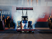 Feb 1, 2018; Chandler, AZ, USA; NHRA funny car driver Steve Torrence during Nitro Spring Training pre season testing at Wild Horse Pass Motorsports Park. Mandatory Credit: Mark J. Rebilas-USA TODAY Sports
