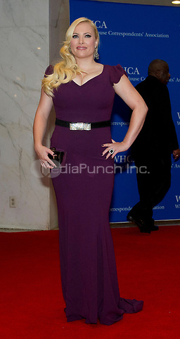 Meghan McCain arrives for the 2014 White House Correspondents Association Annual Dinner at the Washington Hilton Hotel on Saturday, May 3, 2014.<br /> Credit: Ron Sachs / CNP<br /> (RESTRICTION: NO New York or New Jersey Newspapers or newspapers within a 75 mile radius of New York City) /MediaPunch