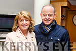 """Joe and Mary McMahon of Tralee attending the opening night of the play """"Someone Will Watch Over Me""""on Thursday night last."""