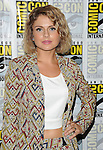 Rose McIver arriving at the iZombie Panel at Comic-Con Party 2014 The Hilton Bayfront Hotel in San Diego, Ca. July 25, 2014.