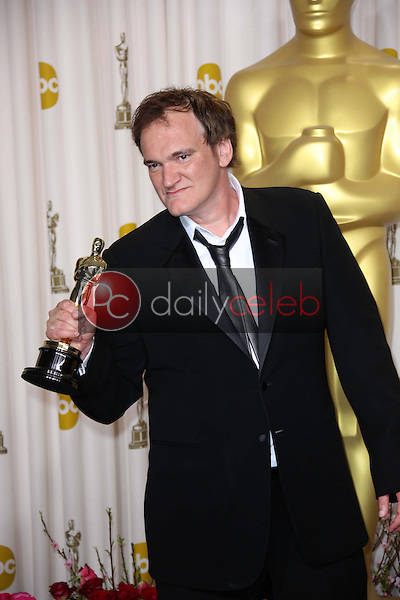 Quentin Tarantino<br /> at the 85th Annual Academy Awards Press Room, Dolby Theater, Hollywood, CA 02-24-13<br /> David Edwards/DailyCeleb.com 818-249-4998