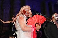 SAO PAULO, SP 17.10.2019 - BAILE-SEPHORA - O influenciador John Drops durante baile de halloween da Sephora, realizado no Teatro Municipal de São Paulo, no centro da cidade de Sao Paulo nesta quinta-feira, 17. (Foto: Felipe Ramos / Brazil Photo Press / Folhapress)