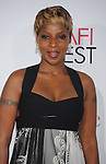 HOLLYWOOD, CA. - November 01: Mary J. Blige arrives at AFI FEST 2009 Screening Of Precious: Based On The Novel 'PUSH' By Sapphire at Grauman's Chinese Theatre on November 1, 2009 in Hollywood, California.