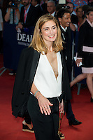 Julie Gayet attends 'Get on up' 1ERE - 40th Deauville American Film Festival - France
