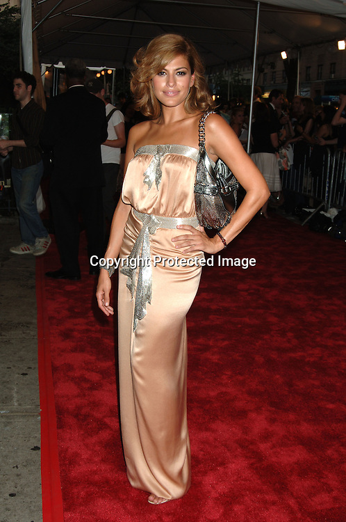 """Eva Mendes..at The New York Premiere of """"Trust The Man"""" directed..by Bart Freundlich and starring Julianne Moore, David ..Duchovny, Billy Crudup, Eva Mendes and Maggie Gyllenhaal on August 7, 2006 at The Chelsea West Cinemas...Robin Platzer, Twin Images"""