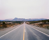 ARGENTINA, Patagonia, Highway 231 leading towards mountain