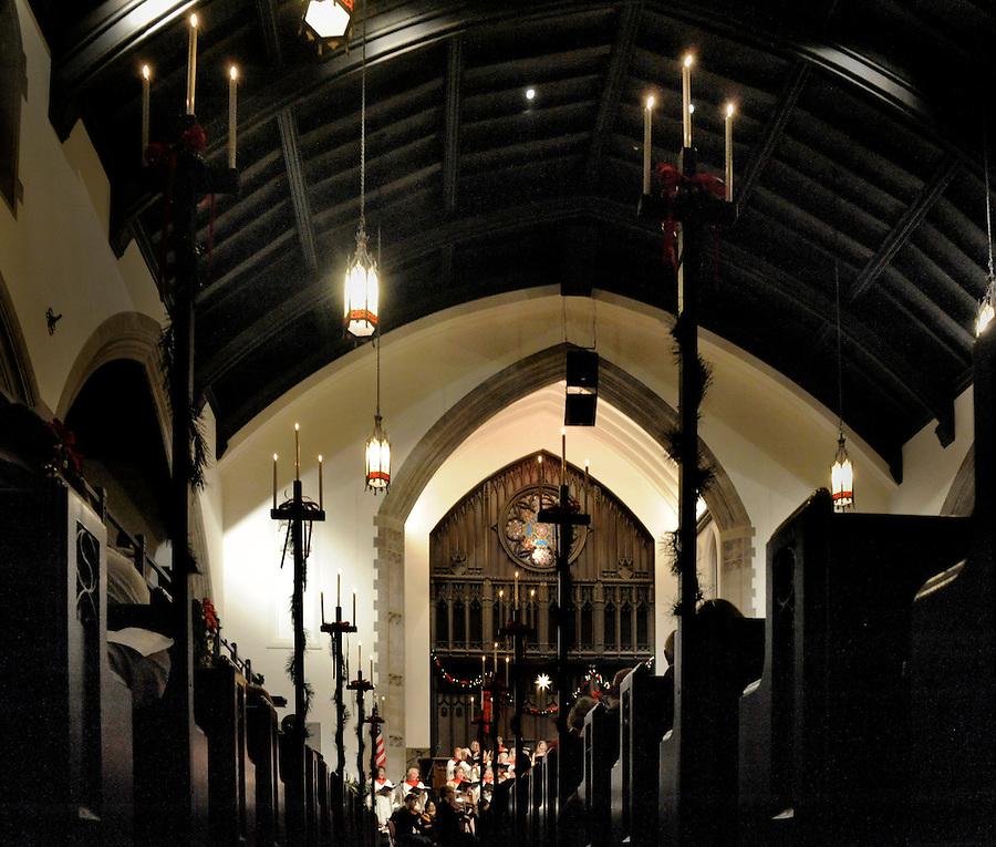 December 9, 2013 copyright JimMendenhallPhotos.com 2013.  Pittsburgh, PA. Christmas Cantata at Mt. Lebanon United Presbyterian Church.