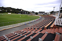Day One of the Plunket Shield cricket match between Wellington Firebirds and Otago Volts at the Basin Reserve in Wellington, New Zealand on Wednesday, 17 October 2018. Photo: Dave Lintott / lintottphoto.co.nz