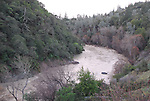 Russian River north of Cloverdale at high water