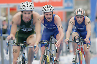 31 AUG 2007 - HAMBURG, GER - Alistair Brownlee (GBR) - Junior Mens World Triathlon Championships. (PHOTO (C) NIGEL FARROW)