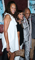 LOS ANGELES, CA, USA - SEPTEMBER 17: Jolie Jones Levine, Quincy Jones, Rashida Jones arrive at the Los Angeles Premiere Of RADiUS-TWC's 'Keep On Keepin' On' held at the Landmark Theatre on September 17, 2014 in Los Angeles, California, United States. (Photo by Xavier Collin/Celebrity Monitor)
