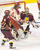 Matt Verdone, Tom May, Derek MacIntyre - The Ferris State Bulldogs defeated the University of Denver Pioneers 3-2 in the Denver Cup consolation game on Saturday, December 31, 2005, at Magness Arena in Denver, Colorado.
