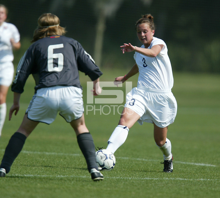 Amanda Lebo, U-17 US WNT, March 12, 2004