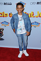 "05 August  2017 - Los Angeles, California - Lonnie Chavis.  World premiere of ""Nut Job 2: Nutty by Nature""  held at Regal Cinema at L.A. Live in Los Angeles. Photo Credit: Birdie Thompson/AdMedia"