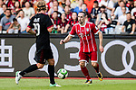Bayern Munich Midfielder Franck Ribery (L) in action during the 2017 International Champions Cup China  match between FC Bayern and AC Milan at Universiade Sports Centre Stadium on July 22, 2017 in Shenzhen, China. Photo by Marcio Rodrigo Machado / Power Sport Images