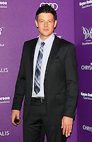 Cory Monteith attending the 11th Annual Chrysalis Butterfly Ball held at a private residence in Los Angeles, California on 9.6.2012..Credit: Martin Smith/face to face /MediaPunch Inc. ***FOR USA ONLY*** NORTEPHOTO.COM