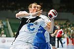 Nach 167 L&auml;nderspielen mit 576 Toren beendet Holger Glandorf seine Karriere in der deutschen Handball-Nationalmannschaft. Der 31-j&auml;hrige Linksh&auml;nder war 2007 Weltmeister und gewann im Juni mit der SG Flensburg-Handewitt die Champions League<br /> Archiv aus: <br />  Handball QS-Supercup 2007  Spiel um Platz 3<br /> Dortmunder Westfalenhalle<br /> Deutschland vs Russland<br /> Holger Glandorf ( Deutschland #11 ) wirft auf das Tor. Dahinter Alexey Kamanin ( Russland #17 ).<br /> Foto &copy; nph (  nordphoto  )<br /> <br />  *** Local Caption ***
