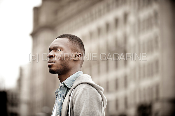Belgian football player Christian Benteke in Liverpool (England, 15/03/2016)