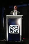 05 December 2013: MLS Executive Vice-President of Communications Dan Courtemanche. Major League Soccer held a press conference announcing Mike Magee, of the Chicago Fire as the winner of the 2013 MLS Most Valuable Player award at the Three Points Club in Kansas City, Missouri.