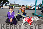 Enjoying the CAMP Sheep FAIR on Monday were Orla Clifford and Ashlin Clifford with Mini the dog