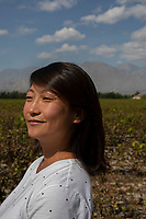 China - Ningxia - Gao Yuan, nicknamed Emma, is the 41-year-old co-owner of Silver Heights, one of the best vi-neyards in Ningxia. Gao opened her winery in the 2000s using all of her mother's lifetime savings. Today Silver Heights' vintages are sold all over China and are recognised as among Ningxia's best ones.