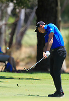 Grant Forrest (SCO) in action on the 1st during Round 3 of the ISPS Handa World Super 6 Perth at Lake Karrinyup Country Club on the Saturday 10th February 2018.<br /> Picture:  Thos Caffrey / www.golffile.ie<br /> <br /> All photo usage must carry mandatory copyright credit (&copy; Golffile | Thos Caffrey)