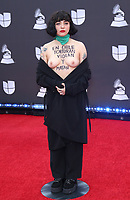 14 November 2019 - Las Vegas, NV - Mon Laferte. 2019 Latin Grammy Awards Red Carpet Arrivals at MGM Grand Garden Arena. Photo Credit: MJT/AdMedia