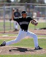 Joseph Williamson - Colorado Rockies - 2009 spring training.Photo by:  Bill Mitchell/Four Seam Images