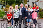 Mary Moriarty from Killarney celebrated her 70th birthday with family at Kells Bay House & Gardens on Tuesday pictured here l-r; Paudie O'Leary, Diane O'Leary, Mary Moriarty, Donnie Moriarty, Paula Moriarty, Jack O'Leary, Maura Casey, Aoibheann Casey & Eimear Talbot.
