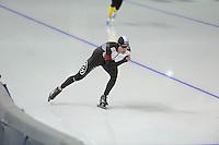 SPEEDSKATING: CALGARY: 13-11-2015, Olympic Oval, ISU World Cup, 5000m B-division, Peter Michael (NZL), ©foto Martin de Jong