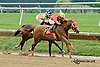 Candy Express winning at Delaware Park racetrack on 6/25/14