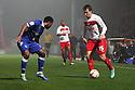 Luke Freeman of Stevenage.  Stevenage v Portsmouth - npower League 1 -  Lamex Stadium, Stevenage - 23rd October, 2012. © Kevin Coleman 2012.
