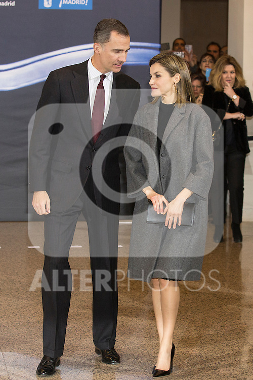 Spanish Royals King Felipe VI of Spain and Queen Letizia of Spain attend a concert in memory of 11M victims in Madrid, Spain. March 10, 2016. (ALTERPHOTOS/Victor Blanco)