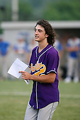 Richie Sepor of the Pavilion Golden Gophers after winning the Section V Class-CC Championship on June 1, 2007.  (Copyright Mike Janes Photography)